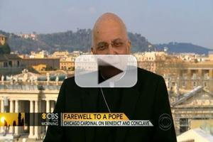 VIDEO: Cardinal Francis George Visits CBS THIS MORNING