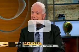 VIDEO: John McCain Talks Syrian Crisis on CBS THIS MORNING
