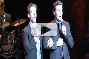 BWW TV EXCLUSIVE: Christian Borle & Jonathan Groff Sing GYPSY's 'If Mama Was Married' at MCC's MISCAST!