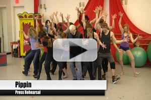 BWW TV: PIPPIN Meets the Press - Sneak Peek at Patina Miller, Matthew James Thomas and More in Action!