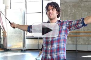 STAGE TUBE: Josh Young Sings 'Bring on the Men' for BROADWAY BACKWARDS!