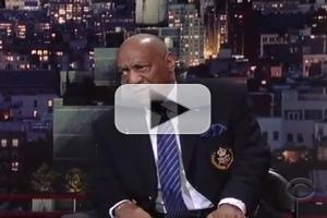 VIDEO: Legendary Comedian Bill Cosby Makes Rare TV Appearance on LETTERMAN