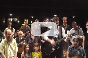 STAGE TUBE: Cast of ONCE Sings 'Thank You' to Fans to Celebrate One-Year Anniversary on Broadway!