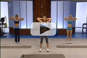 STAGE TUBE: Jillian Michaels 6 Week Six-Pack Abs Workout Level 1