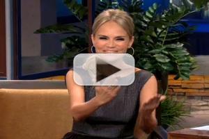 VIDEO: Kristin Chenoweth Talks Sushi, Breaking Glass & Magic on THE TONIGHT SHOW