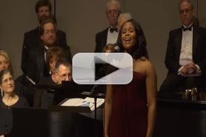STAGE TUBE: Nikki Renee Daniels Sings PORGY & BESS' 'Summertime' at Topeka Festival Singers Spring Concert