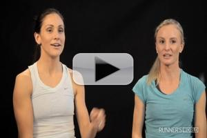 STAGE TUBE: Elite Runners Shalane Flanagan and Kara Goucher Share Their Stories