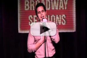 STAGE TUBE: Jared Zirilli Sings 'Refuge (When It's Cold Outside)' at BROADWAY SESSIONS