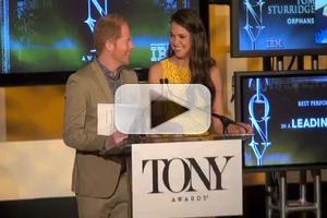 BWW TV: Watch Sutton Foster & Jesse Tyler Ferguson Announce the 2013 Tony Nominations!