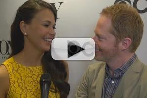 BWW TV: Chatting with Sutton Foster & Jesse Tyler Ferguson at the 2013 Tony Nominations!