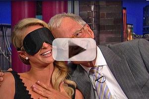 VIDEO: Letterman Puts Paris Hilton to the Test on LATE SHOW