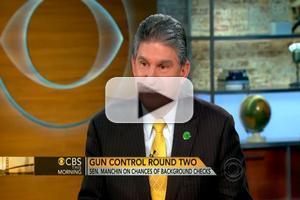 VIDEO: Sen. Manchin (D-WV) Talks Gun Control on CBS