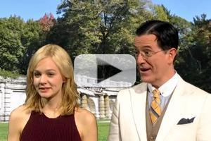 VIDEO: Carey Mulligan Visits Colbert's 'The Great Gatsby' Book Club