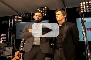 VIDEO: Kevin Bacon & More Appear at FOX First-Ever Fan Front