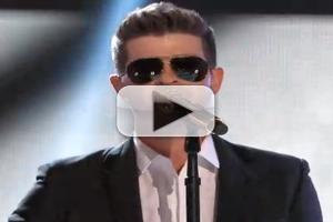 VIDEO: Robin Thicke, Blake Shelton, Adam Levine & Lady Antebellum Perform on THE VOICE