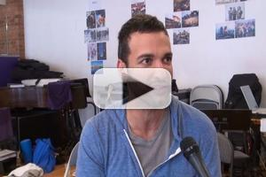 BWW TV EXCLUSIVE: Haaz Sleiman Talks VENICE at the Public Theater- Go Behind the Scenes at Rehearsal!