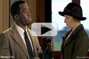 VIDEO: Diddy 'Cast' as First Black Member of DOWNTON ABBEY