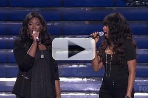 VIDEO: Jennifer Hudson, Candice Glover Sing 'Inseparable' on IDOL