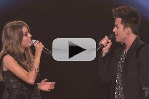 VIDEO: Adam Lambert, Angie Miller Rock the House on IDOL