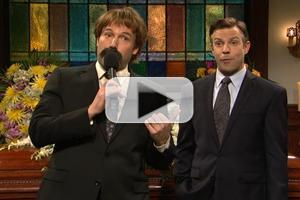 VIDEO: SNL Hosts 'Greg's Funeral'
