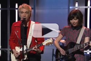 VIDEO: Ian Rubbish and The Blizzards (and Carrie Brownstein) Perform on SNL