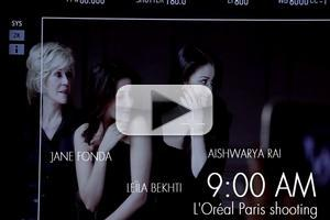 VIDEO: L'Oreal at Cannes: Behind the Scenes Day 4