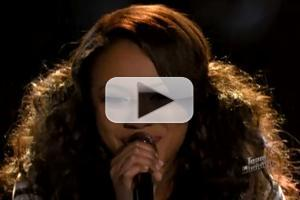 VIDEO: Sasha Allen Performs Emeli Sande's 'Next to Me' on THE VOICE