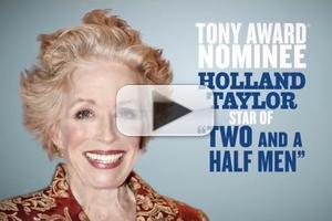 STAGE TUBE: New Promo Released for Holland Taylor-Led ANN!