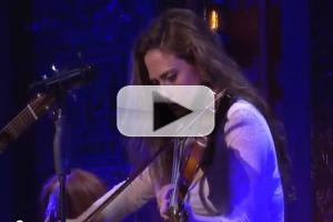 STAGE TUBE: Cast of ONCE Performs at 54 Below
