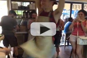 STAGE TUBE: NEWSIES Cast Visits Broadway Bakes at Schmackary's!