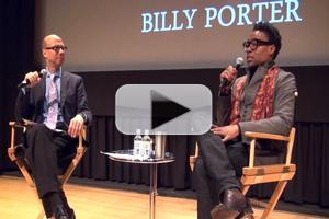 BWW TV Exclusive: Backstage with Richard Ridge - SAG Foundation Conversations Series with Tony Nominee Billy Porter- Part 1