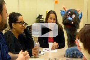 STAGE TUBE: 'Behind the Felt' at Human Race Theatre's AVENUE Q