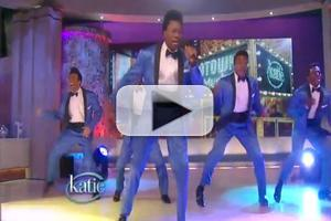STAGE TUBE: The Contours from MOTOWN Perform 'Do You Love Me' on KATIE