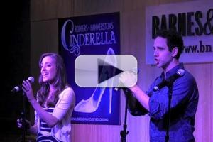 BWW TV: Laura Osnes, Victoria Clark, Santino Fontana & CINDERELLA Cast Sign Albums at Barnes & Noble- Plus the Performances!