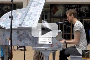 STAGE TUBE: ONCE's Arthur Darvill Sings 'On Raglan Road'