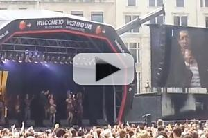 STAGE TUBE: Cast of WE WILL ROCK YOU Performs 'Bohemian Rhapsody' and More at WEST END LIVE 2013!