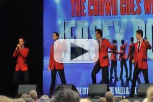 STAGE TUBE: JERSEY BOYS Woo the Crowd at WEST END LIVE 2013!