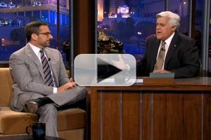 VIDEO: Steve Carell Talks 'Office' Finale Cameo on LENO