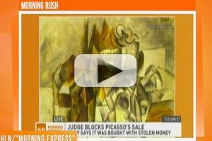 STAGE TUBE: U.S. Jutice Department in Control of an $11.5 Million Picasso