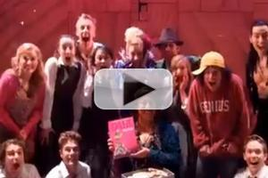 STAGE TUBE: West End's MATILDA Cast Celebrates 25 Years of Roald Dahl's Book!