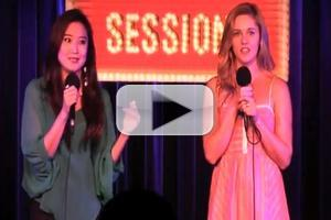 STAGE TUBE: Ashley Park and Taylor Louderman Duet on Lady Gaga's 'Poker Face' at BROADWAY SESSIONS