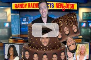 BWW TV EXCLUSIVE: CHEWING THE SCENERY WITH RANDY RAINBOW -  Randy Celebrates Cheyenne Jackson's Birthday & More!