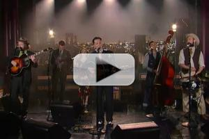 VIDEO: Pokey LaFarge Makes U.S. Network Debut on LETTERMAN