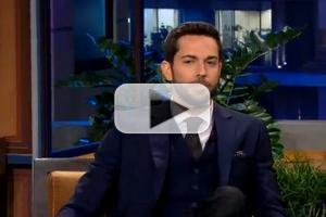 VIDEO: Zachary Levi Chats FIRST DATE on Leno