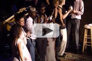 MEGA STAGE TUBE: Idina Menzel & Taye Diggs Sing at A BROADERWAY Karaoke Night!