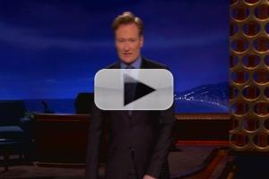 STAGE TUBE: Conan Jokes About Anthony Weiner, LeBron James, Taylor Swift and More!