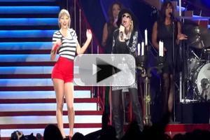 STAGE TUBE: Carly Simon Surprises Taylor Swift Stadium Crowd with 'You're So Vain' Duet