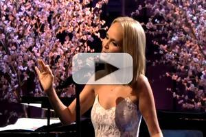 TV Exclusive: Kristin Chenoweth Sings for Anthony Weiner on Leno; Video + Lyrics!