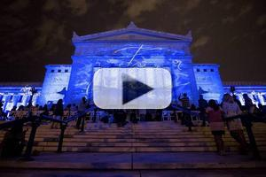 VIDEO: Highlights - Marco Nereo Rotelli's DIVINA NATURA at the Field Museum
