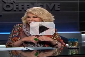 VIDEO: Sneak Peek - Joan Rivers Guests on Tonight's THE JESELNIK OFFENSIVE